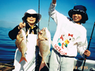 Nana And Carly Catching The Big Ones, 1995